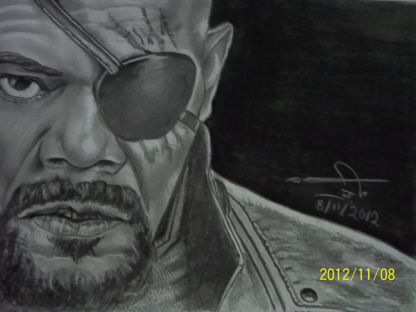 Samuel L. Jackson by maged10